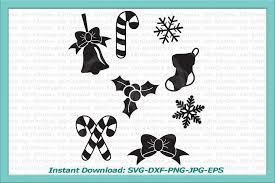 Once payment has been completed, you will receive an email letting you know your digital file is ready for download. Christmas Bundle Holly Berry Snowflakes Sock Bow Bell Svg 44113 Svgs Design Bundles Christmas Bundle Christmas Svg Christmas Candy Cane