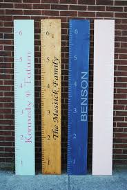 Diy Wooden Growth Chart Tutorial Wooden Diy Growth Chart