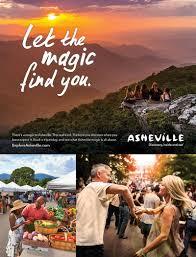 Travel Ads Advertising Campaigns Explore Asheville Convention Visitors Bureau
