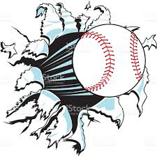 Image result for baseball art clips