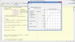 solving nar equations by means of matlab gui