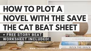 Story Outline Template Online How To Outline Your Novel With The Save The Cat Beat Sheet