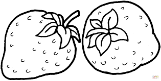 Small Picture Amazing Strawberry Coloring Page 44 With Additional Coloring Pages