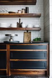 interior design fo open shelving kitchen. Wooden Open Shelving Subtile Kitchen Design | Smith Hanes Studio Interior Fo S