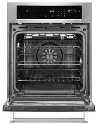 single wall oven with true convection