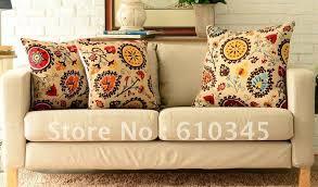 wholesale Free Shipping Linen cotton pillow cover moden cushion