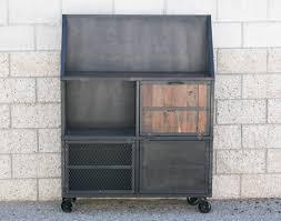 Industrial Bar Cabinet Combine 9 Industrial Furniture Liquor Cabinets Bar Carts