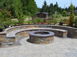 Stacked Stone Fire Pit outdoor stone fire pit outdoor designs 4800 by xevi.us