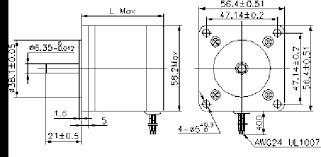 step motor nema round shape wiring diagram