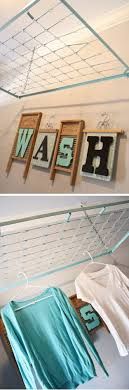 Best 25+ Laundry hanging rack ideas on Pinterest | Laundry room drying rack,  Industrial drying racks and Hanging rack for clothes