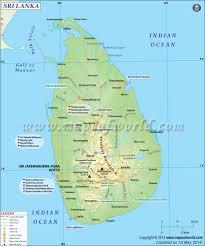 Sri Lanka Map Map Of Sri Lanka
