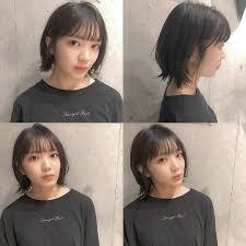 多くの女優さんなどに大人気の前髪韓国発のシースルーバングはボブと