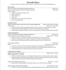 Study Abroad Resume Sample Study Abroad Resume Cpnsd Info