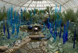 chihuly at phipps gardens and glass