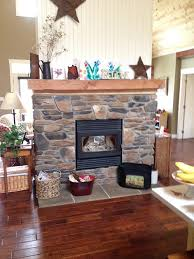 rsf oracle see thru wood burning fireplace with