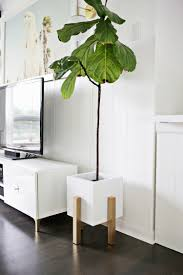 Mid Century Plant Stand Need A Weekend Project Make This Diy Wooden Mid Century Modern