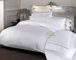 dorchestersuper king size 100 cotton bedding in white high thread count