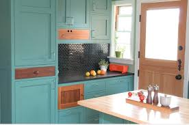 5 modern kitchen cabinets can still have color