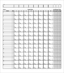 Baseball Score Book Pages Printable Baseball Scorebook Excel Free Wiring Diagram For You