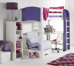 Scallywags Bedroom Furniture Cresta Scallywag Kids High Sleeper Bed Bed Post
