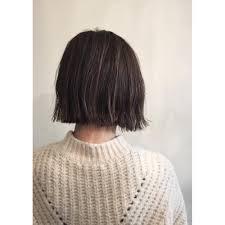 切りっぱなしボブハイライトカラー Lyon Hairmake Upリヨンヘアー