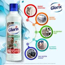 Купить <b>Средство</b> для мытья полов <b>Glorix</b> 3в1 Нежная забота 1л с ...