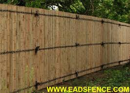 Bamboo Privacy Fences