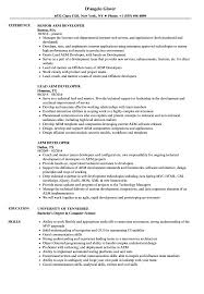 Aem Sample Resumes AEM Developer Resume Samples Velvet Jobs 1
