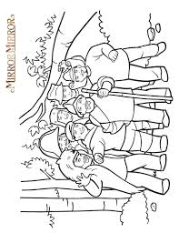 mirror coloring pages for kids. 4 Mirror Mirror. Coloring Pages For Kids