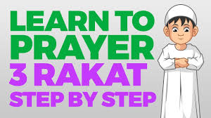 How To Pray 3 Rakat Units Step By Step Guide From Time To Pray With Zaky
