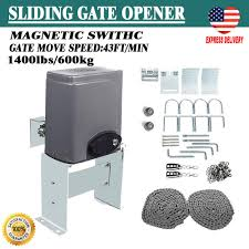 details about electric sliding gate opener 600kg automatic motor remote kit heavy duty new us