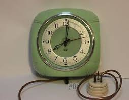 rare vintage smiths mint green art deco bakelite wall clock on art deco wall clock antique with 279 best vintage clock images on pinterest vintage clocks vintage
