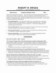 Army Resume Awesome 100 Warrant Ficer Resume Summary Military Examples