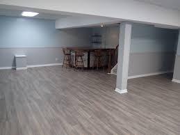 ... Interesting Inspiration Laminate Wood Flooring For Basement Grey Cork  Kitchen. Grey.