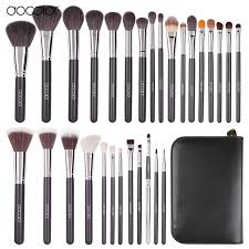 aliexpress 29 pcs brand makeup brushes professional cosmetic brush set high quality makeup set with case but