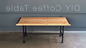 preferred desk coffee tables throughout diy pipe coffee table you gallery 13 of 20