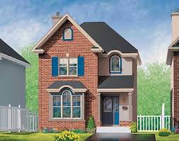brick house plans. Fine Plans Brick House Plan In Two Versions  80212PM  Architectural Designs  Plans Intended