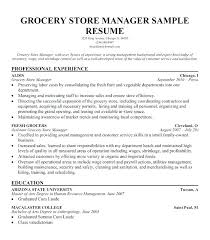 Supermarket Clerk Job Description Grocery Store Cashier Resume