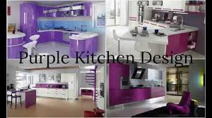 Purple Kitchen Purple Kitchen Design Youtube