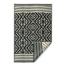 5 x 8 indoor outdoor rugs fab habitat indoor outdoor rug black x 8 5 x