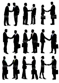 握手をするビジネスマンの画像素材16002227 イラスト素材なら