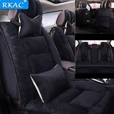 rkac car seat cover autumn winter front rear back seats universal cushion for vehicles mazda 3