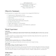 Example Of Resumes For Medical Assistants Sample Resume For Medical Office Assistant Sample Medical Assistant