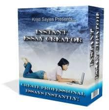 instant essay creator creates essays in minutes  instant essay creator