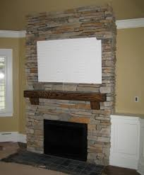 fetching fireplace stacked stone dry stack cultered for best stacked stone veneer fireplace