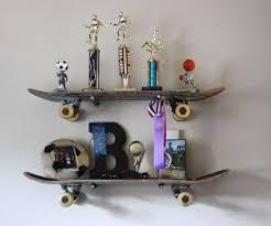 Funny DIY Skateboard Shelves