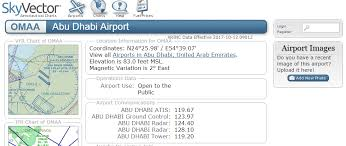 Omaa Charts No Ground Frequncy On Omaa Abu Dhabi Airport Support