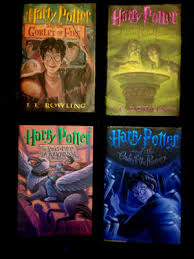 8 harry potter hard cover books all have a 1 on the copyright page