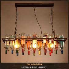 restaurant kitchen lighting. Recycled Retro Hanging Wine Bottle Pendant Lamps Light With Edison Bulb For Dining Room/bar/restaurant Kitchen Lighting Fixture Restaurant A