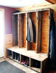Shoe Coat Rack Bench